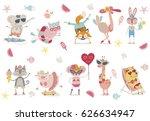 it's summertime  | Shutterstock .eps vector #626634947