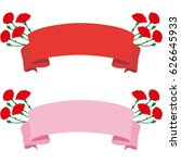 mother's day ribbon | Shutterstock .eps vector #626645933
