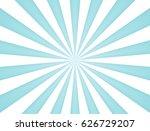rays of radial blue sun... | Shutterstock .eps vector #626729207