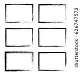 grunge frames.vector grunge... | Shutterstock .eps vector #626747573