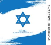israel independence day... | Shutterstock .eps vector #626781743