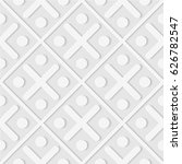 seamless pattern of dots and... | Shutterstock .eps vector #626782547