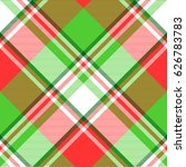 abstract madras seamless... | Shutterstock .eps vector #626783783