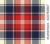 check fabric texture diagonal... | Shutterstock .eps vector #626783867
