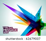 Geometric Abstract Banner....