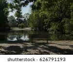 lake in a park | Shutterstock . vector #626791193