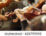 member of classical music... | Shutterstock . vector #626795543