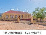 Small photo of ZOAR, SOUTH AFRICA - MARCH 25, 2017: A primary school in Zoar, a village in the Western Cape Province
