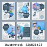 flyer cover business brochure...   Shutterstock .eps vector #626838623