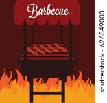 barbecue  | Shutterstock .eps vector #626849003