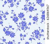 flower illustration pattern   Shutterstock .eps vector #626864567