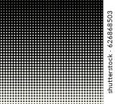 halftone dots.halftone effect.... | Shutterstock .eps vector #626868503