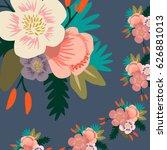 flower pattern | Shutterstock .eps vector #626881013
