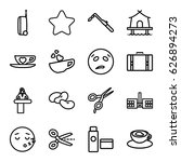 Clipart Icons Set. Set Of 16...