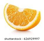 Ripe Slice Of Orange Citrus...