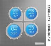 four steps infographics....   Shutterstock .eps vector #626948693