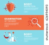 medical banners for business | Shutterstock .eps vector #626954093