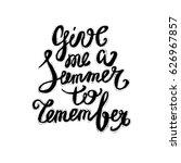 hand lettering inspirational... | Shutterstock .eps vector #626967857
