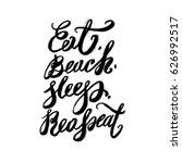 hand lettering inspirational... | Shutterstock .eps vector #626992517