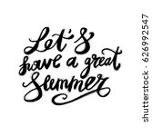 hand lettering inspirational... | Shutterstock .eps vector #626992547