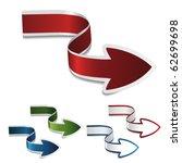 vector navigation arrows | Shutterstock .eps vector #62699698