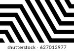 seamless pattern with black... | Shutterstock .eps vector #627012977