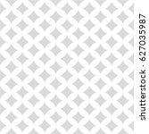seamless monochrome square... | Shutterstock .eps vector #627035987