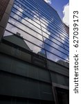 urban reflection | Shutterstock . vector #627039173