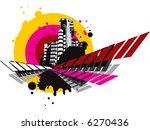 city grunge composition | Shutterstock .eps vector #6270436