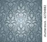 excellent seamless floral... | Shutterstock .eps vector #62704882