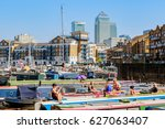 london  uk   april 8  2017  ... | Shutterstock . vector #627063407