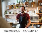 small business  people and... | Shutterstock . vector #627068417