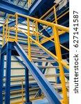 structure of stairway in... | Shutterstock . vector #627141587