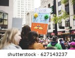 Small photo of CINCINNATI, OH - APRIL 22 Protesters March for Science in Downtown Cincinnati on Earth Day APRIL 22, 2017.