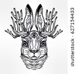 Three Eyed Jacalope Magical...