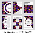 abstract vector layout... | Shutterstock .eps vector #627194687