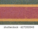 colorful roof tiles texture  ... | Shutterstock . vector #627202043