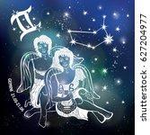 Gemini  Zodiac Sign.twin...