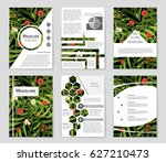 abstract vector layout... | Shutterstock .eps vector #627210473
