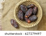 best quality mejdool dates in a ... | Shutterstock . vector #627279497