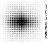 halftone circles  halftone dot...   Shutterstock .eps vector #627291263