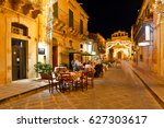 noto  sicily  italy   september ... | Shutterstock . vector #627303617