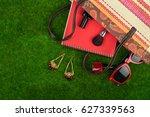 female fashion accessories  ... | Shutterstock . vector #627339563