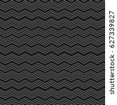 geometric zig zag seamless... | Shutterstock .eps vector #627339827