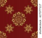 golden seamless pattern for...   Shutterstock .eps vector #627377117