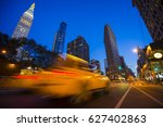 abstract motion blur view of... | Shutterstock . vector #627402863