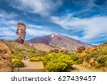 panoramic view of unique roque... | Shutterstock . vector #627439457