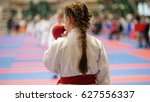 sports kids   teenager girl... | Shutterstock . vector #627556337