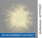gold glitter powder explosion.... | Shutterstock .eps vector #627579047