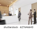 side view of business people... | Shutterstock . vector #627646643
